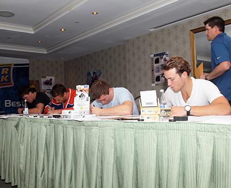 2014-NHLPA-Rookie-Showcase-Upper-Deck-Rookies-Signing