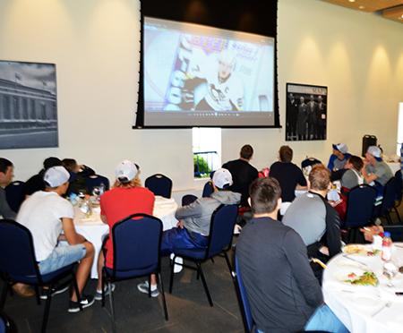 2014-NHLPA-Rookie-Showcase-Viral-Video-Lunch-Upper-Deck