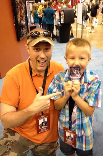 2014-National-Sports-Collectors-Convention-Upper-Deck-Autographs-Michael-Jordan-Cards-Father-Son-Kids-Memories