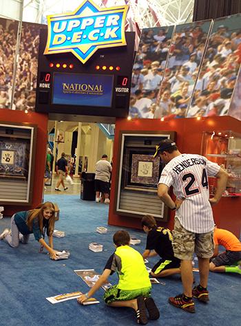 2014-National-Sports-Collectors-Convention-Upper-Deck-Kids-Children-Games-Fun-Engagement-1
