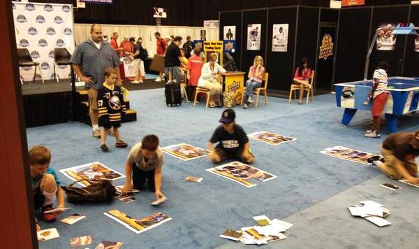 2014-National-Sports-Collectors-Convention-Upper-Deck-Kids-Children-Games-Fun-Engagement-2
