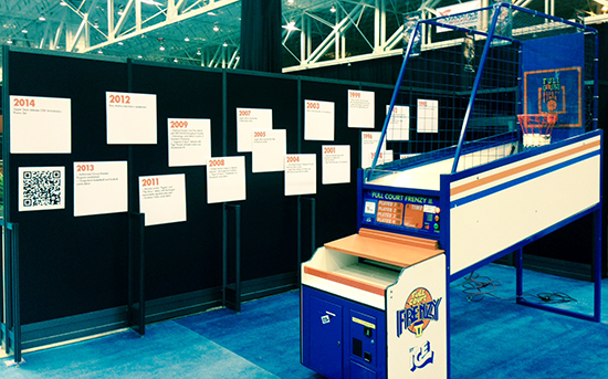 2014-National-Sports-Collectors-Convention-Upper-Deck-Kids-Children-Games-Fun-Engagement-4