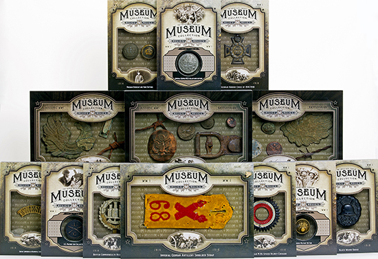 2014-Upper-Deck-Goodwin-Champions-Museum-Collection-World-War-I-WWI-Artifacts-Full-Collection