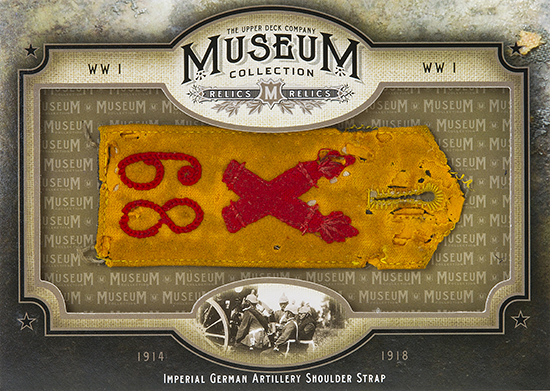2014-Upper-Deck-Goodwin-Champions-Museum-Collection-World-War-I-WWI-Artifacts-German-Shoulder-Strap
