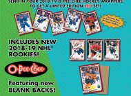 Upper Deck's 2017-18 NHL® O-Pee-Chee Wrapper Redemption Program Returns to Canada!