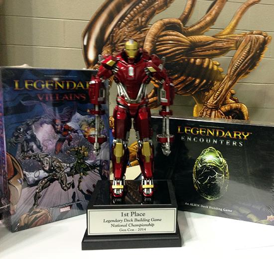 Gen-Con-Indy-Upper-Deck-Legendary-Deck-Building-Game-National-Championship-10k-Trophy-Iron-Man-2