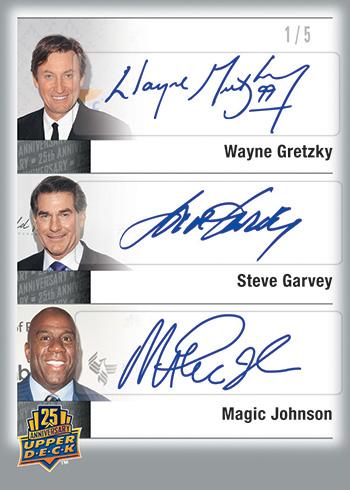2014-Upper-Deck-25th-Anniversary-Set-City-Sigs-Triples-Gretzky-Garvey-Magic