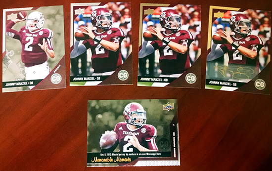 2014-Upper-Deck-Conference-Greats-SEC-Base-Parallel-Autograph-Johnny-Manziel
