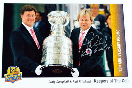 2014-Upper-Deck-Stanley-Cup-San-Diego-Visit-Keeper-Phil-Pritchard-Auto