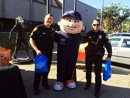 Upper-Deck-Gives-Back-Charity-Philanthropy-Halloween-Trick-or-Trade-Police-Law-Enforcement-Local-3