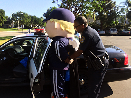 Upper-Deck-Gives-Back-Charity-Philanthropy-Halloween-Trick-or-Trade-Police-Law-Enforcement-Local-Coach-Cardman-Arrested