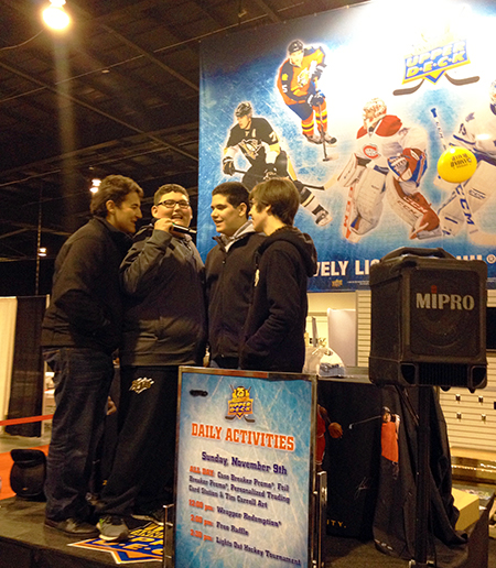 2014-Fall-Sportscard-Memorabilia-Expo-Upper-Deck-Kids-Acapella-Youth-Group-Sing