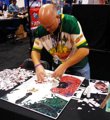 Cpl-Nathan-Cirillo-Upper-Deck-Wayne-Gretzky-Autograph-Tim-Carroll-Mosaic-Art-Remembrance-Day-2