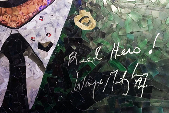 Cpl-Nathan-Cirillo-Upper-Deck-Wayne-Gretzky-Autograph-Tim-Carroll-Mosaic-Art-Remembrance-Day-Signature