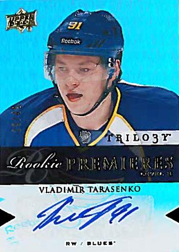 13-14-Upper-Deck-Vladimir-Tarasenko-Trilogy-Premiers-Autograph-Rookie-Level-3