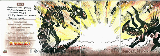 2015-Upper-Deck-Dinosaurs-Sketch-Cards-Darren-Chandler-Outside