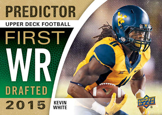 Who Will Be Drafted First? Upper Deck's Football Predictor Cards are Back!