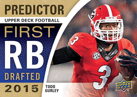 2015-Upper-Deck-Football-Predictor-Todd-Gurley