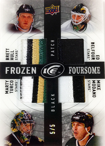2014-15-NHL-Upper-Deck-Ice-Frozen-Foresome-Black-Dallas-Stars