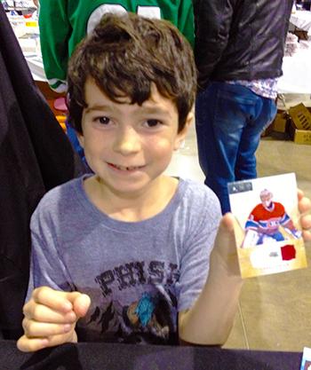 2014-Fall-Sportscard-Memorabilia-Expo-Upper-Deck-Kids-Youth-Carey-Price-Auto-Jersey
