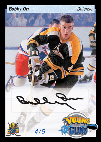 2015-Upper-Deck-25th-Anniversary-Young-Guns-Tribute-Exclusive-Bobby-Orr