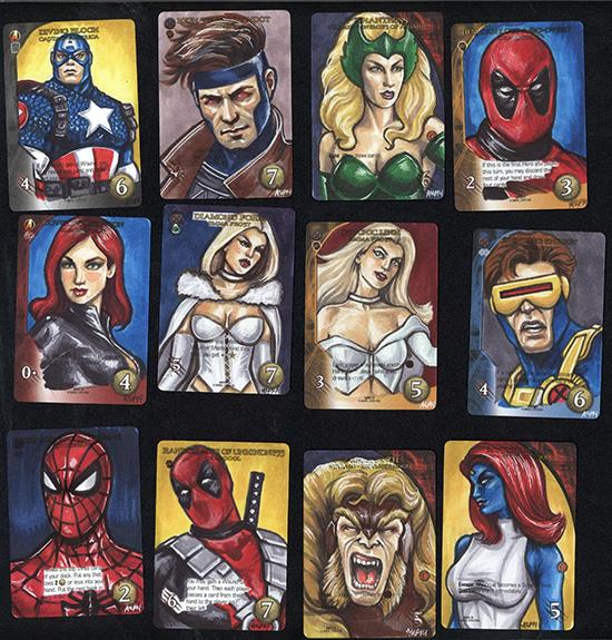 2015-Upper-Deck-Marvel-3D-Legendary-Sketch-Card-Ashleigh-Popplewell