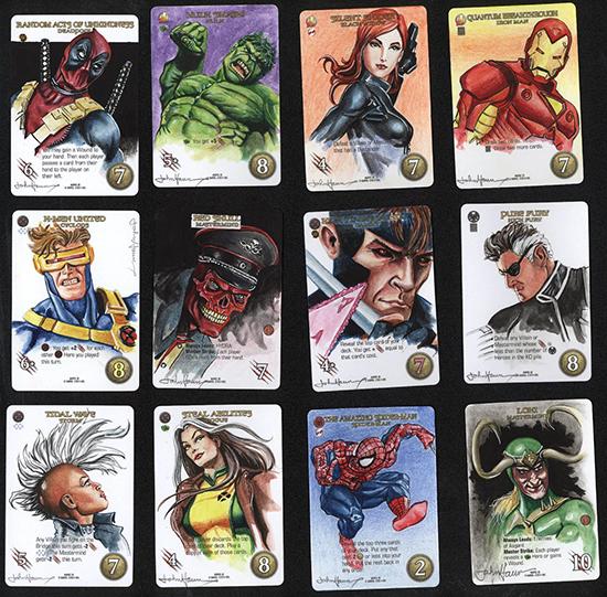 2015-Upper-Deck-Marvel-3D-Legendary-Sketch-Card-John-Haun-1