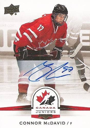 Connor-McDavid-2014-15-Upper-Deck-Team-Canada-Autograph