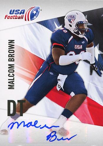 USA-Football-NFL-Draft-2012-Upper-Deck-Malcom-Brown-Autograph