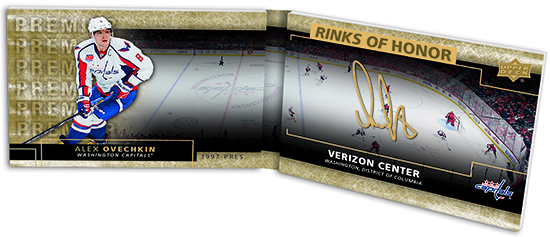 2014-15-NHL-UD-Premier-Rinks-of-Honor-Booklet-Autograph-Alex-Ovechkin