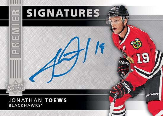 2014-15-NHL-UD-Premier-Signatures-Jonathan-Toews