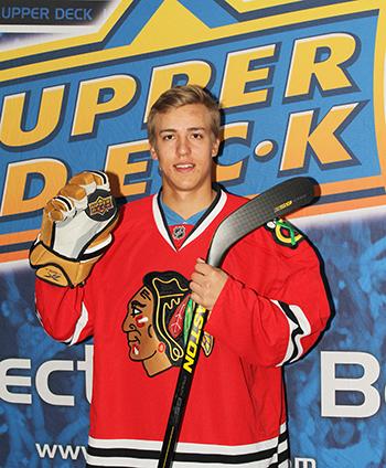 2014 upper deck rookie chicago blackhawks young star guns teuvo teravainen