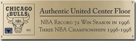 Chicago-Bulls-Game-Used-Floor-Coffee-Table-Upper-Deck-Authenticated-Plaque
