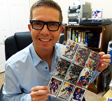 Jeremy st louis goes full circle on collecting upper deck nhl cards