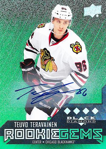 Teuvo-Teravainen-Upper-Deck-Black-Diamond-Chicago-Blackhawks-Autograph-Rookie-Card