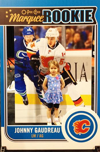 spring-sport-card-memorabilia-expo-kids-kid-focussed-marketing-initiative-gaudreau-3d-trading-card-photo-opp