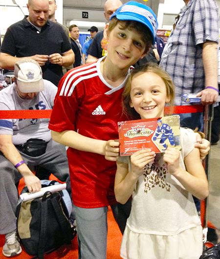 spring expo kid focused marketing efforts upper deck trading cards