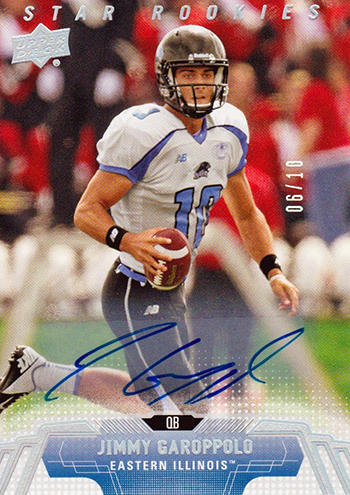 Best-Rookie-Cards-Collect-Valueable-Rare-Jimmy-Garoppolo-Upper-Deck-Autograph