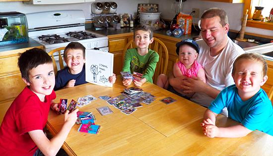 Upper-Deck-Dads-Read-Father-Son-Teach-Kids-Dad-Child-Card-Memories-Last-Lifetime