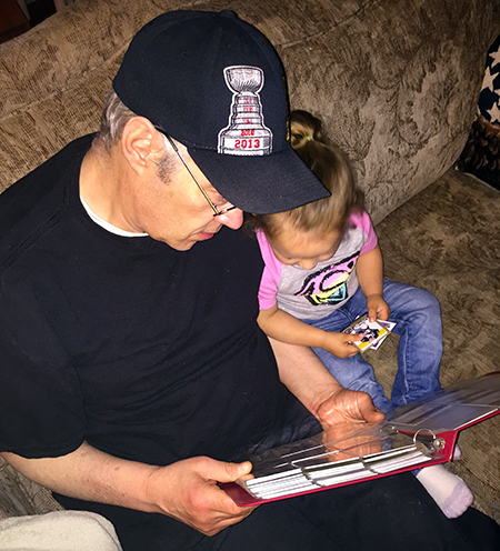Upper-Deck-Dads-Read-Father-Son-Teach-Kids-Dad-Child-Cards-Stories-Daughter