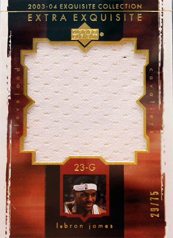 top-ten-best-03-04-lebron-james-king-chosen-one-rookie-autograph-cards-upper-deck-ud-extra-exquisite-patch-jumbo-swatch
