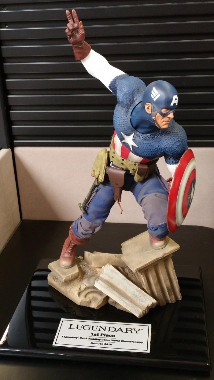Captain America Trophy