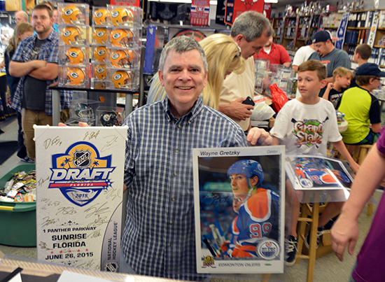 jim and steves waukegan il event upper deck authenticated