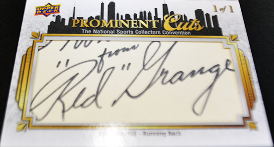 Big-Pulls-Upper-Deck-Prominent-Cuts-Red-Grange-Autograph-Card