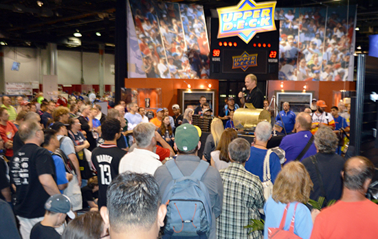 Upper-Deck-National-Sports-Collectors-Convention-Booth-Giveaway-Fun
