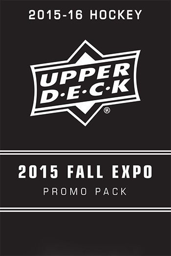 2015 16 Upper Deck Fall Expo Priority signings pack