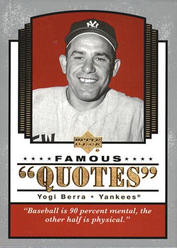 upper deck remembers yogi berra yankee legend