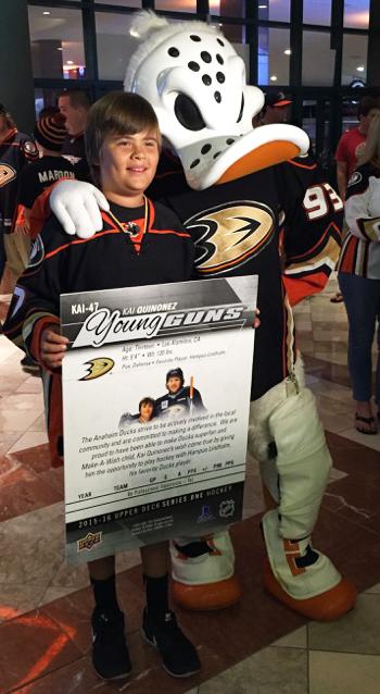 2015-Anaheim-Ducks-Home-Opener-Kai-Quinonez-Young-Guns-Rookie-Reveal-4