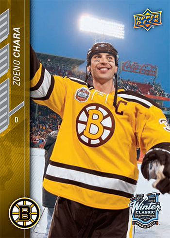 2015 16 upper deck nhl winter classic exclusive trading card set boston bruins