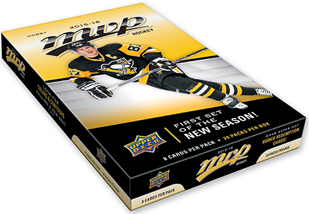 2015 16 nhl mvp upper deck hockey hobby box